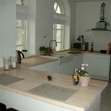 Køkkenbordplade træ - køb træbordplade til køkken til billige priser